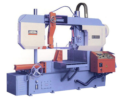 Mega - H-series Column Type Semi-automatic - H-550