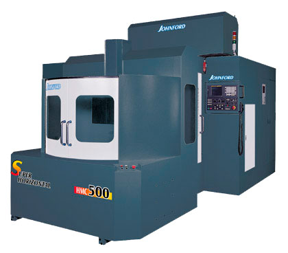 Johnford - High Speed Horizontal/Vertical Machining Centers - HMC-500 / 500H / 630 / 630H