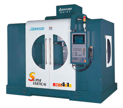 Johnford - Super Vertical Machining Centers - SV-33 / 41 / 33H / 41H
