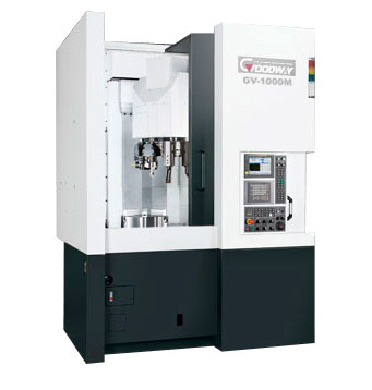 Goodway - High Speed Vertical CNC Turning Centers - GV - 1000 Series
