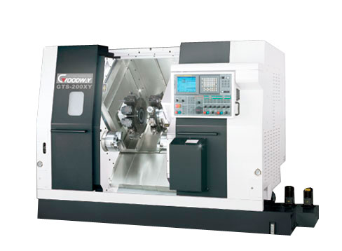 Goodway - Twin Spindles And Turrets CNC Turning Centers / Lathes - GTS Series