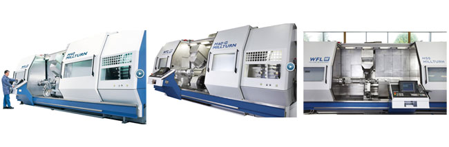 WFL Mill-Turn - CNC Mill-turn Machines - M40 / M40-G / M50