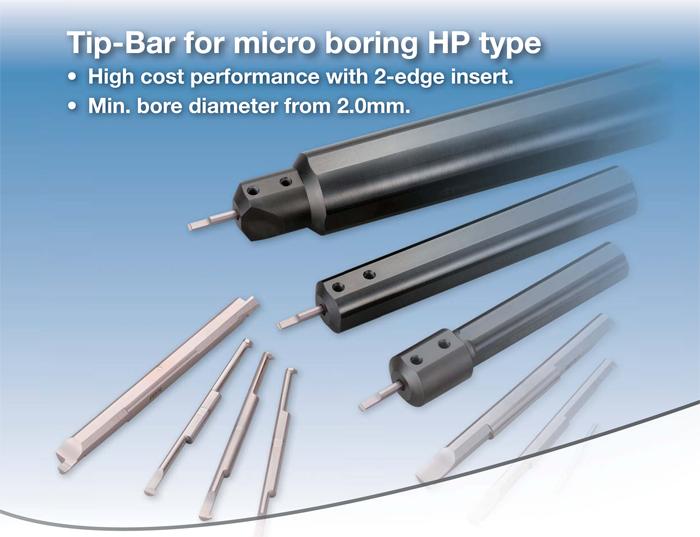Kyocera Cutting Tools - Boring - Micro Boring - Tip Bar