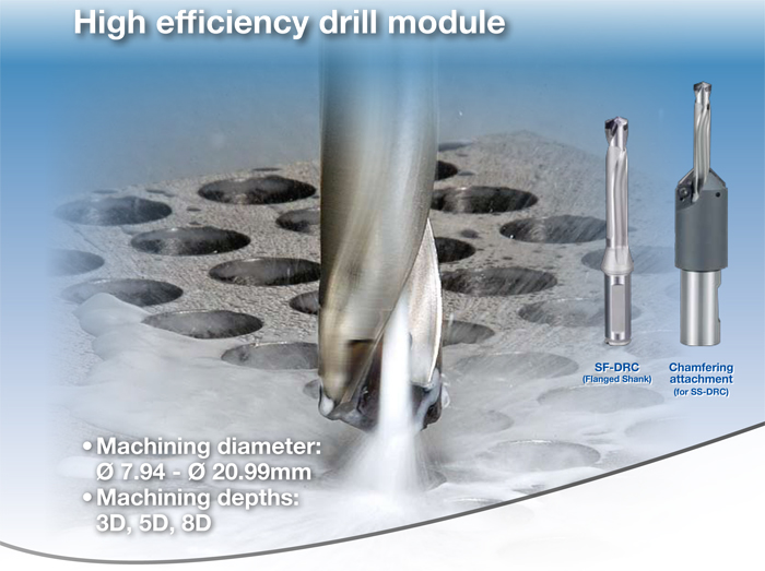 Kyocera Cutting Tools - Drilling Applications - DRC - Precision Magic Drill