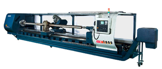 Johnford - Flat Bed CNC Lathes And CNC Screw Cutting Machines - SCM-3000 / 4000 / 5000 / 6000 / 7000