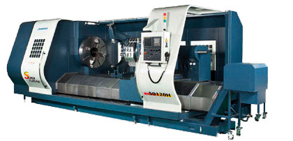 Johnford - Flat Bed CNC Lathes And CNC Screw Cutting Machines - LC-40 / 50 / 60