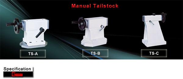 Golden Sun - Tailstock - Manual Tailstock