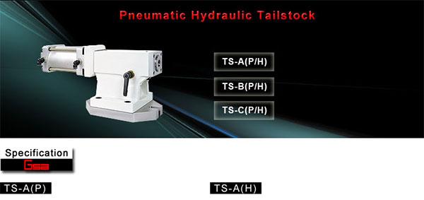 Golden Sun - Tailstock - Pneumatic / Hydraulic Tailstock