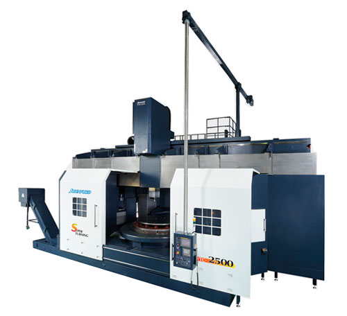Johnford - CNC Vertical Turning Centers - VTC-2000ATC / 2500ATC / 3000ATC / 4000ATC / 5000ATC / 6000ATC