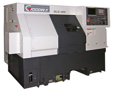Goodway - High Speed CNC Turning Centers / Lathes - GLS-200 Series