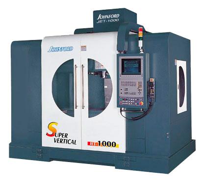 Johnford - High Speed Vertical Machining Centers - JET-1000