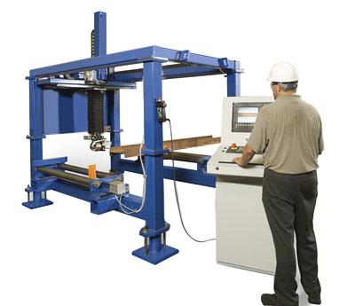 Ocean Machinery - Liberator CNC Beam Coping Machine - Ocean Liberator - CNC Beam Coping Machine
