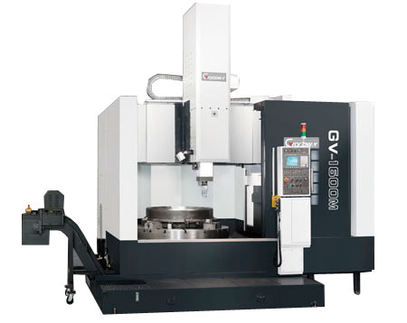 Goodway - Maximum Performance Vertical Turning Centers - GV-1 Series