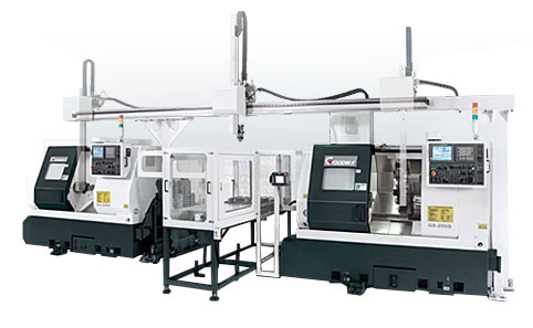 Goodway - Automation Turning - Gantry Loading Systems