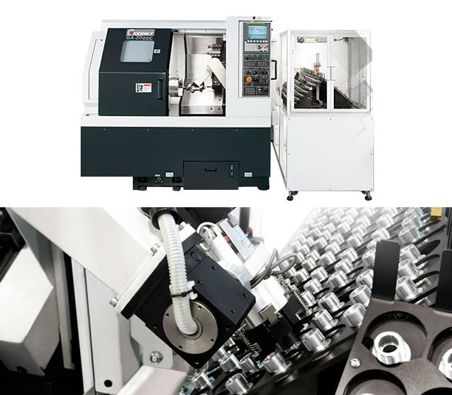 Goodway - Automation Turning - Loading & Unloading Systems
