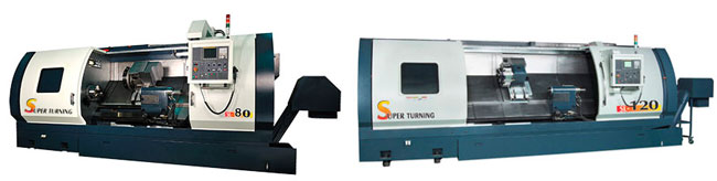 Johnford - CNC Super Lathes - SL-70A / 80A / 100A / 120A / 70B / 80B / 100B / 120B
